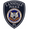 Lansdale Borough Police Department Badge
