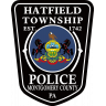 Hatfield Township Police Department Badge