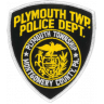 Plymouth Township Police Department Badge