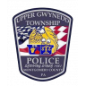 Upper Gwynedd Township Police Department Badge
