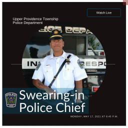 UPPD Swearing-in New Police Chief