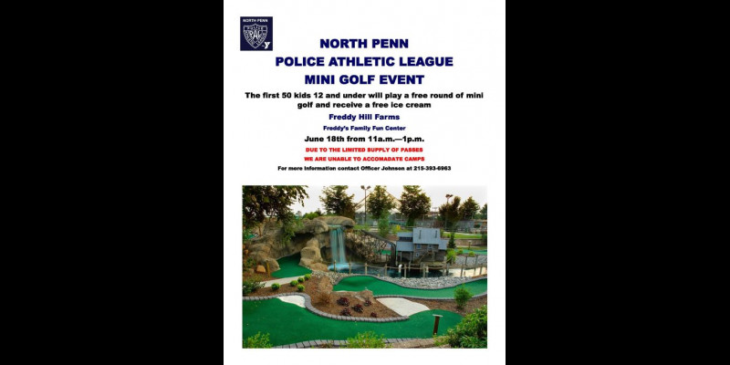 Image for NORTH PENN PAL MINI GOLF EVENT