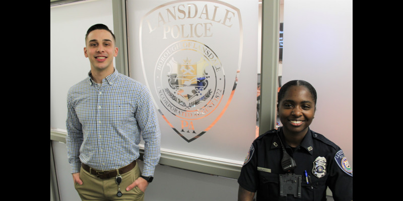 Image for Lansdale Hires Two New Full-TIme Officers