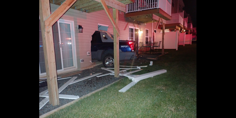 Image for UPDATE: Stolen Vehicle Crashed Into House
