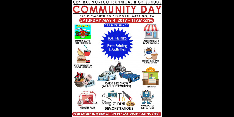 Image for Central Montco Technical High School Community Day