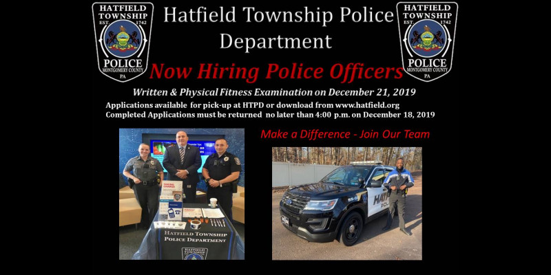 Image for Now Hiring Police Officers