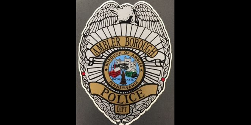 Image for AMBLER BOROUGH POLICE DEPARTMENT PRESS RELEASE