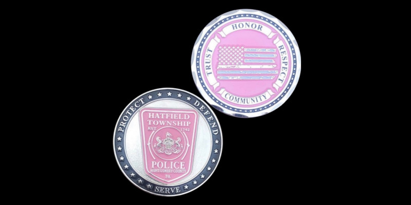 Image for Breast Cancer Awareness Month Pink Challenge Coins Fundraiser