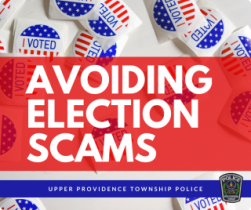 Avoiding Election Scams