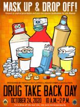 Drug Take Back Day 10.24.2020